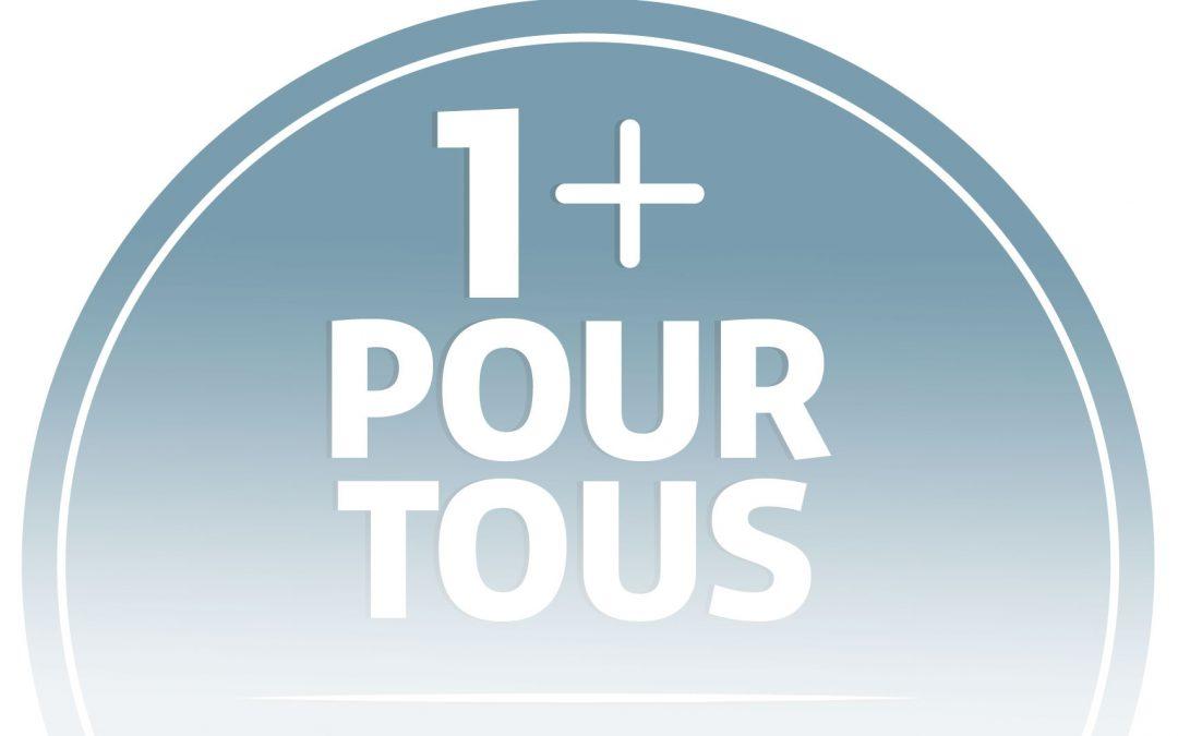 La pharma24 labellisée «1+ pour tous » !